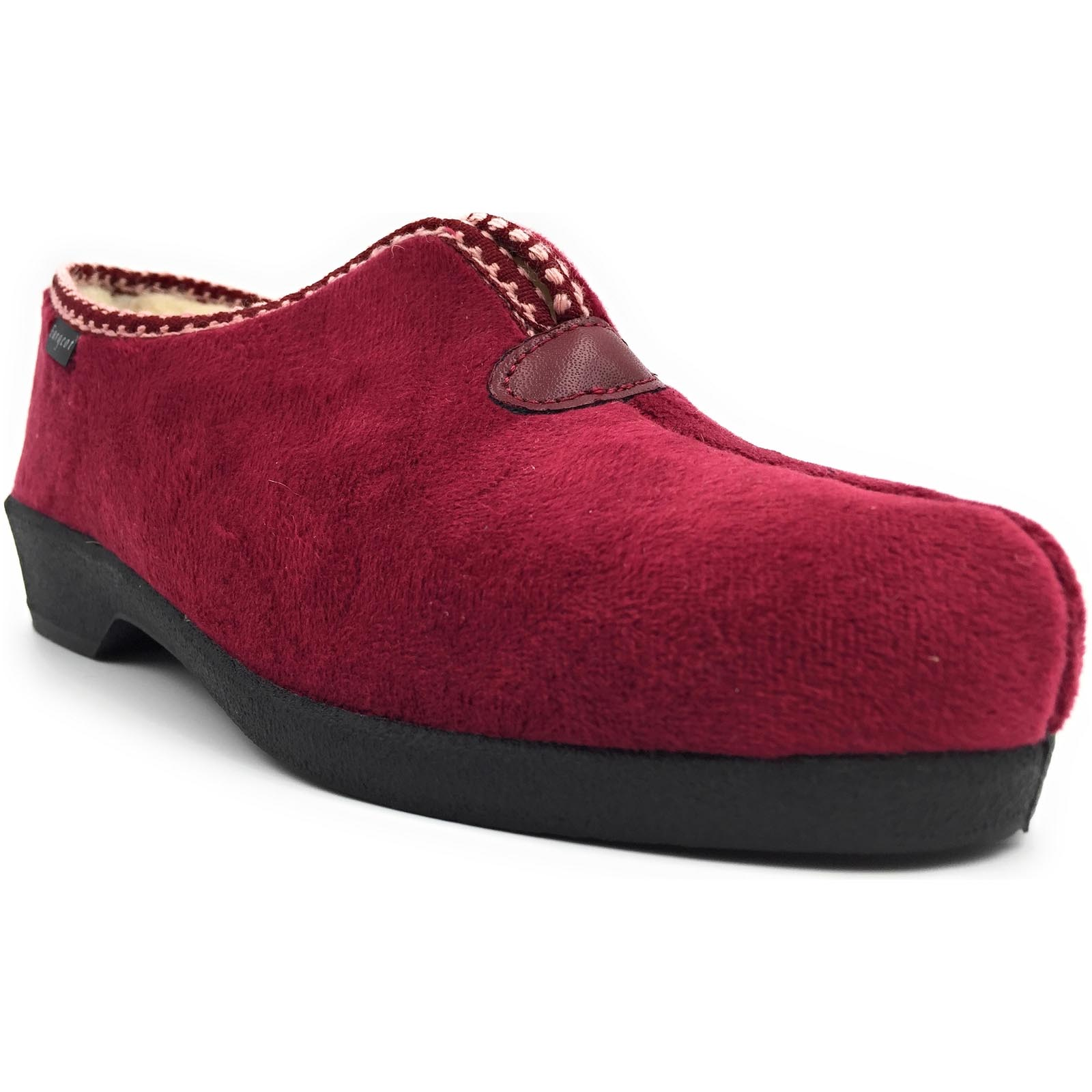 Fargeot chaussons obelie rouge
