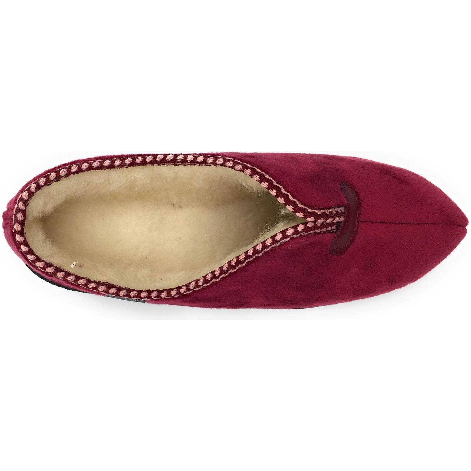 Fargeot chaussons obelie rouge1009002_5