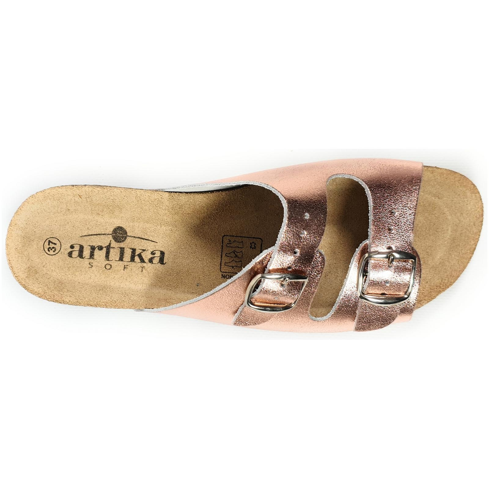 Artika mules et sabots basque rose1237104_5