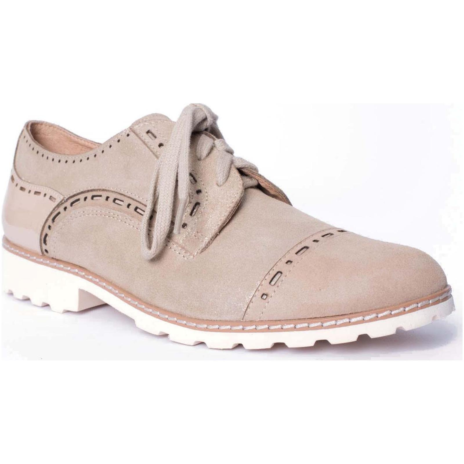 Fugitive chaussures ville lacets willer marron