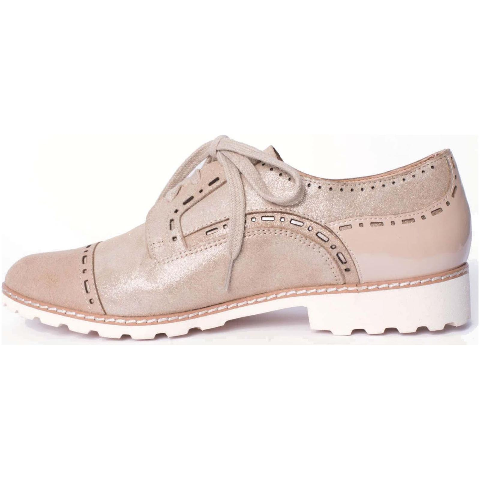 Fugitive chaussures ville lacets willer marron8003801_6