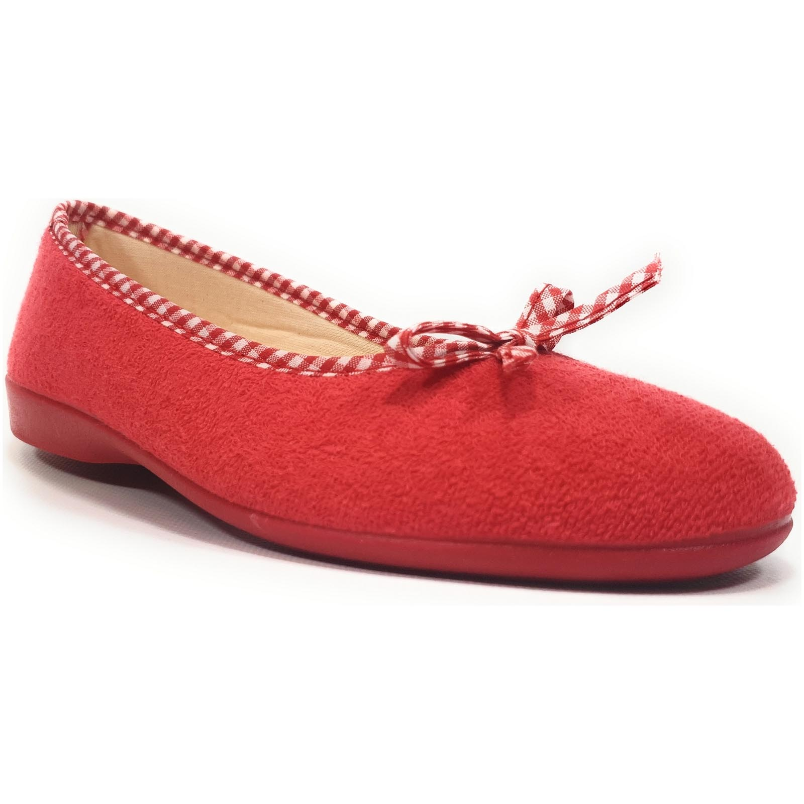 Fargeot chaussons elisa rouge
