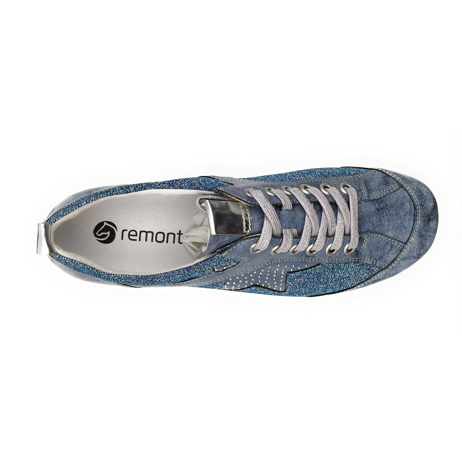 Remonte baskets mode r3400 bleu8066701_5