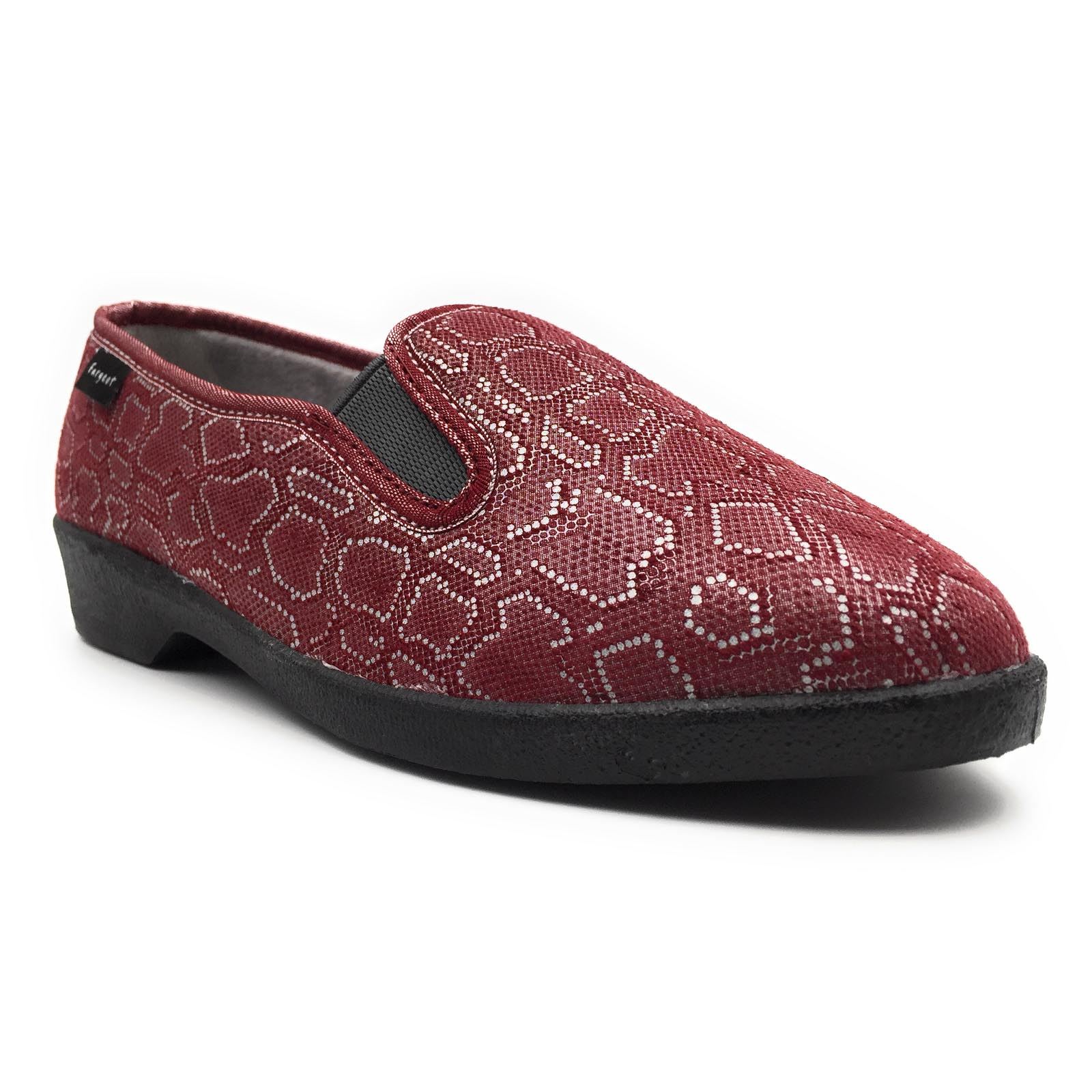 Fargeot chaussons sabord rouge