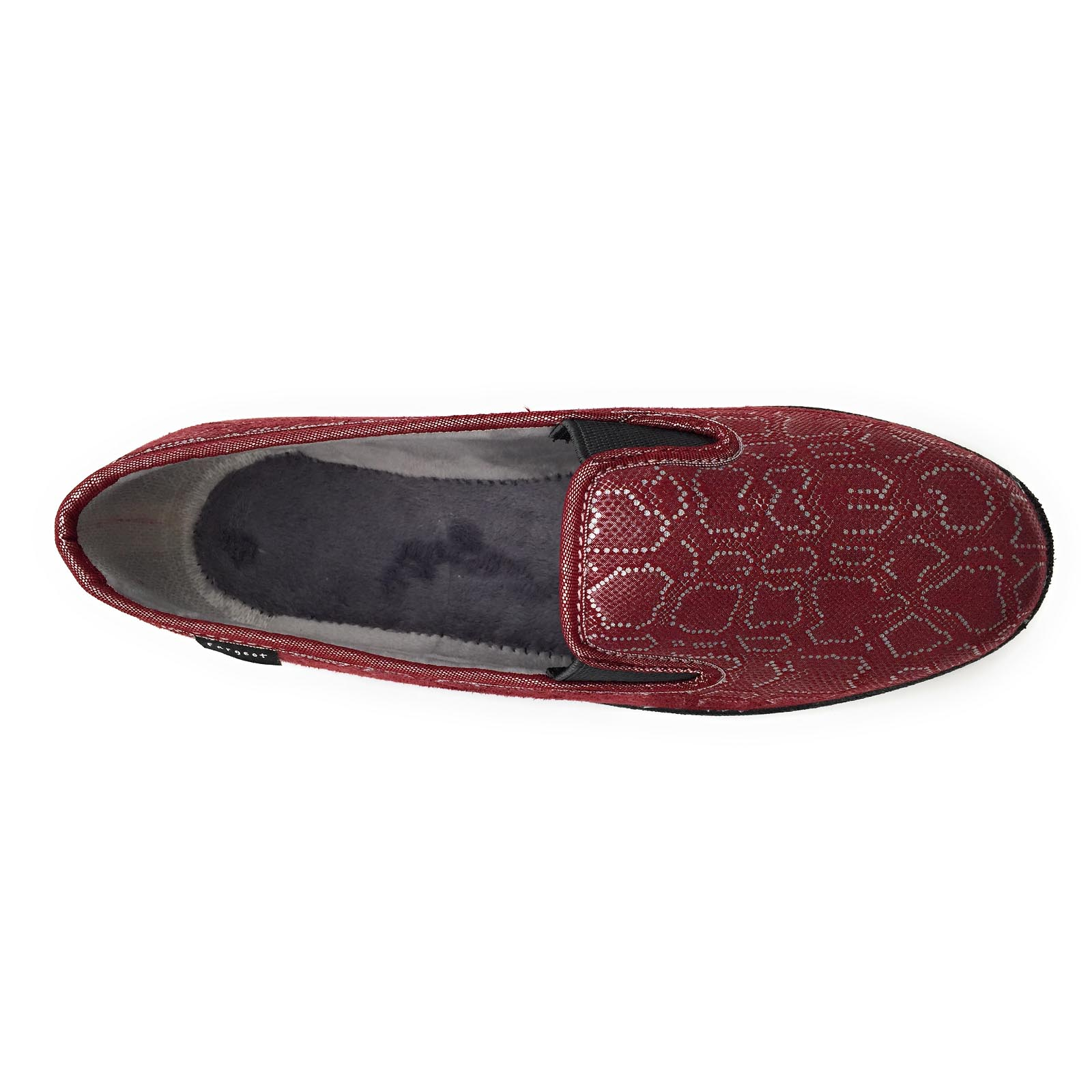 Fargeot chaussons sabord rouge8079802_4